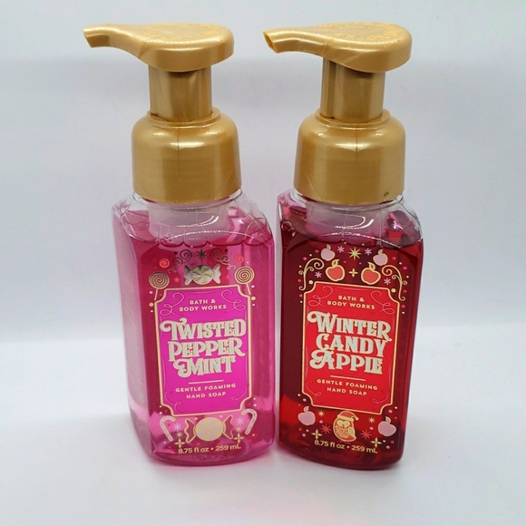 Bath & Body Works Holiday Hand Soaps